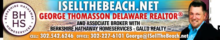George Thomasson, Delaware Resort REALTOR®